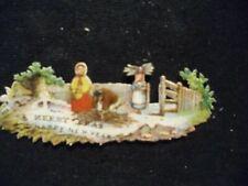 Victorian scrap # 9979 - CHRISTMAS VIGNETTE