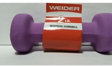 Weider 2lb Neoprene Coated Dumbbell 2 Pounds 4 Pack Hand Weight Exercise Walking