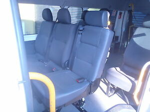 Single Combo Tourer Van Seat with Inbuilt Seat Belt at All About Vans