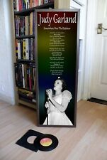 JUDY GARLAND OVER THE RAINBOW PROMOTIONAL POSTER LYRIC SHEET,THEATRE,MOVIE