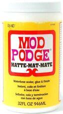 Mod Podge Waterbase pegamento, sellador y acabado mate, 946ml, 32Oz.