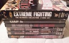 Pick from 7 mma DVDs extreme fighting wef  Ufc pride