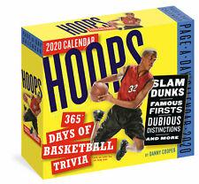 Hoops: 365 Days of Basketball Trivia 2020 Boxed Calendar by Workman Hoops NBA