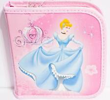 Disney Princess Cinderella Holds 24 CD or DVD Case