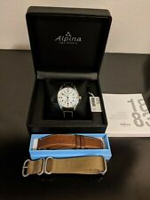 Alpina Men's Startimer Pilot AL-240BS4S6 42mm Swiss Watch
