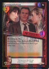 Buffy CCG TCG Angels Curse Unlimited Edition Foil Card #25 Confrontation