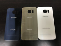 Samsung Galaxy S6 G920 Cover Glass Back Door Blue Gold White OEM A Lot of 100