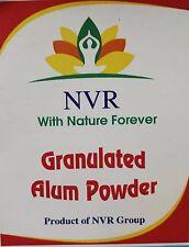 Branded Granulated Alum Powder 1 Pound Lot