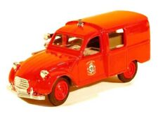 Citroën 3CV + figurine Pompiers  ELIGOR