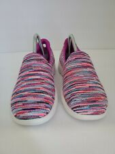 Womens NEW Skechers Air cooled Yoga Mat slip on sneakers sz 9 Multi Color