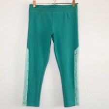 BP Cropped Leggings Teal Lace Capri Yoga Pants Juniors Large Athletic Nordstrom