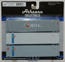 Athearn 45' containers - Mol - Case lot
