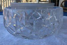 Vintage Gorham Lady Anne Crystal 9 Inch Salad Bowl - 6054480 - with original box