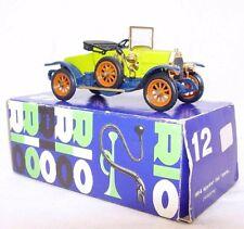 """Rio Italy 1:43 FIAT SPIDER """"ZERO"""" OPEN CONVERTIBLE #Green Model Car #12 MIB`80!"""