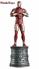Eaglemoss Marvel Chess Collection Iron Man Chess Piece #2 w/ Mag White Bishop