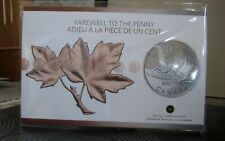 """$20 for $20 2012 Canada Fine Silver Coin """" Farewell to the Penny""""  RCM sealed"""