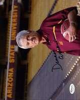 Dennis Erickson Signed Jsa Cert Sticker 8x10 Photo Authenticated Autograph