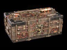 Steampunk Cofrecito - The Enigma Bóveda - VERONESE Joyero Decoración BRONCEADA