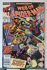 Web of Spider-Man #56 (Nov 1989, Marvel)