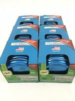 Ball Collection Elite Color Series WideMouth 6 Lids with Bands Per Box 6 Box Lot