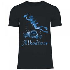 Royal Shirt a30 Herren T-Shirt Alkodiver | lustiges Partyshirt Fun Geschenkidee