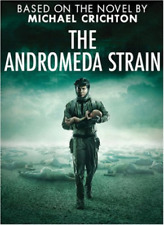 The Andromeda Strain DVD 2008 Benjamin Bratt 2 Disc