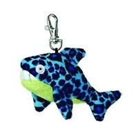 Aurora Fanta - Sea Life 4 inch Soft Plush Key Clip - Shark