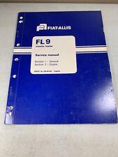 Fiat Allis Fl9 Crawler Loader Engine Service Manual