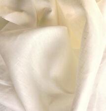 Linen 100% Woven Fabric From Europe light weight 5.5 oz  Undyed PFD 10 Yd Length