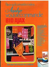 Publicité Advertising 1972 La Lessive Bio Ajax pour Agalys