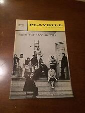 Playbill Royale Theatre September 1961 From the Second City