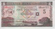 NORTHERN IRELAND-ULSTER BANK P339 5 POUNDS, GEORGE BEST COMMEMORATIVE, UNC