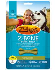 Zuke's Z Bone Grain Free Pet Nutrition Mini Apple Crisp Dog Dental Chew 18 count