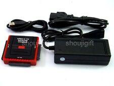 "SATA IDE TO USB 2.5"" 3.5"" hard drive 5.25"" CD DVD RW Case adapter converter"