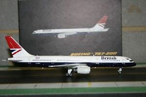 Gemini Jets 1:200 British Airways Boeing 757-200 G-CPET (G2BAW205) Model Plane