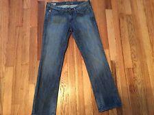 Women's Big Star Ricki ultra low rise stretch slim jeans size 26