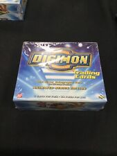 Digimon Trading Cards Animated Series Edition Booster Box (Sealed, NIB)