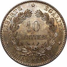 O289 Rare 10 Centimes Cérès 1890 A Paris FDC !!!! > Faire offre