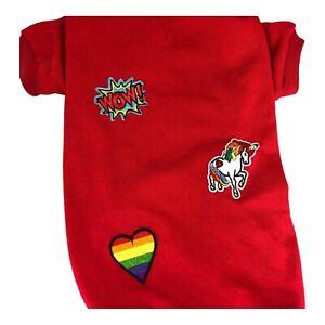 Sweatshirt with fun patches size XXL