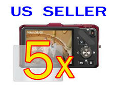 5x Nikon COOLPIX S9300 S9200 Camera LCD Screen Protector Guard Shield Film