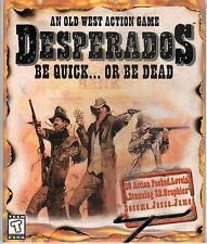 DESPERADOS BE QUICK OR BE DEAD An Old West Action Game PC Shooter NEW IN BOX