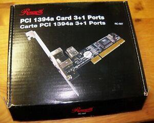 Rosewill 1394a Card 3+1 Ports RC-507 NIB