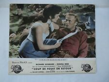 WESTERN/RICHARD WIDMARK+DONNA REED /photo originale