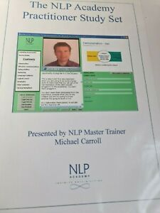 NLP Academy Practitioner Study Set- 7 CDs and Large Manual