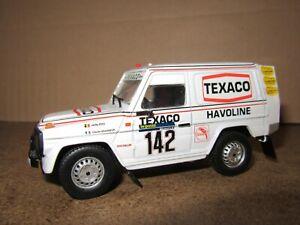 13Q NOREV Mercedes G280 #142 Winner Rally Raid Paris Dakar 1983 Ickx 1:43