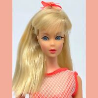 GORGEOUS Vintage Barbie TNT - Pale Blonde Twist N Turn - Mod Swimsuit OSS Japan