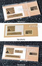 New FMA Custom Decals Sticker For PEQ-15 LA-5 Case