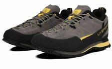 LA SPORTIVA BOULDER X HIKING BOOTS, LOW CUT GREY/YELLOW SIZE 9.5 UK BRAND NEW.