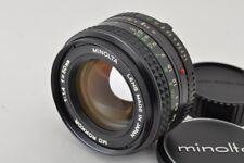 MINOLTA MD ROKKOR 50mm F1.4 MF Lens for SR Mount EXCELLENT #171111s