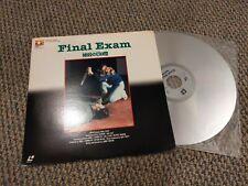 Final Exam Laserdisc Japan Only EHL-1031 Horror
